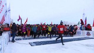 Corrida no gelo