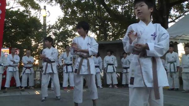 Japon : les karaté-kids du Nouvel An