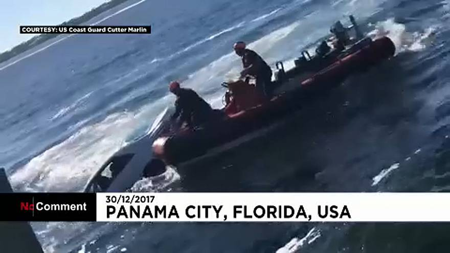 No Comment: Άνθρωπος στη θάλασσα