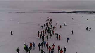 Buz gibi bir maraton