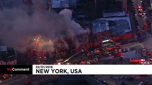 Новый пожар в Бронксе: 12 пострадавших