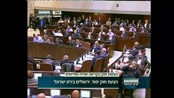 Jeruzsálem jövőjéről szavazott a Kneszet