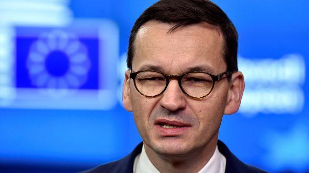Ο Πρωθυπουργός της Πολωνίας Ματέους Μοραβιέτσκι
