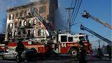 Újabb lakástűz Bronxban