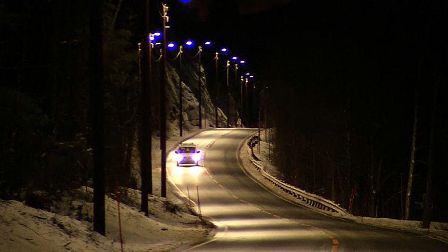 """""""Умные дорожные фонари"""" в Норвегии"""