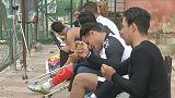 Mısırlı özürlü futbolcunun azmi