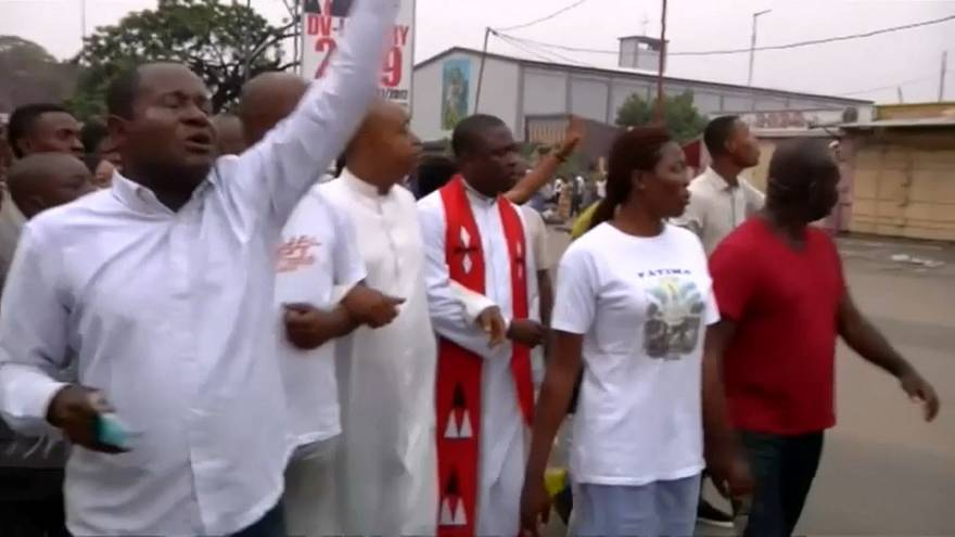 La Iglesia católica denuncia las represiones en la República Democrática del Congo