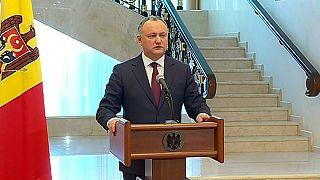 Anayasa Mahkemesi Moldova Cumhurbaşkanı Dodon'un yetkilerini askıya aldı