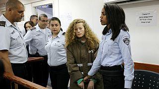 Ahed Tamimi foi detida a 18 de dezembro pelas autoridades de Israel