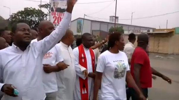 Kongó: a katolikus klérus kiáll a tüntetők mellett