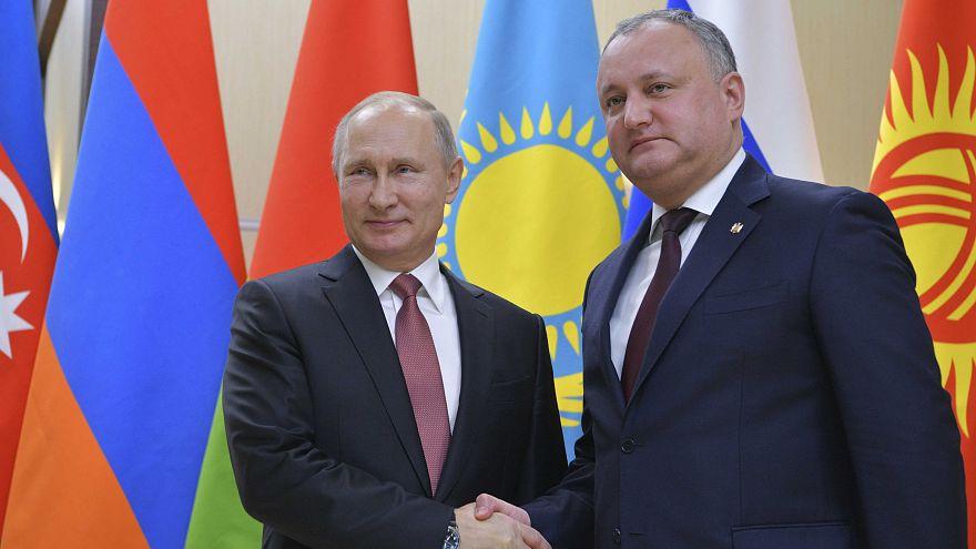 Tribunal Constitucional moldavo suspende poderes do presidente Igor Dodon