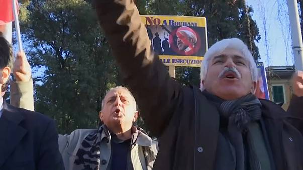 Протесты зарубежных иранцев