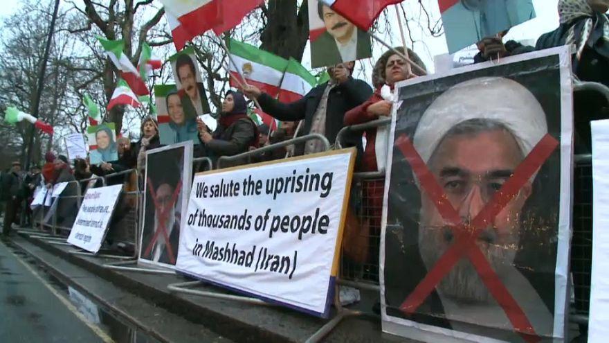 La comunidad iraní en la UE sale a la calle