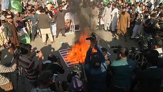 Anger in Pakistan over Trump tweet