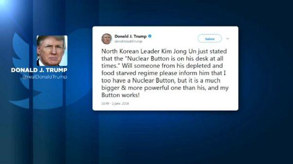 """Trump Vs Kim: """"Il mio pulsante è migliore del tuo"""""""
