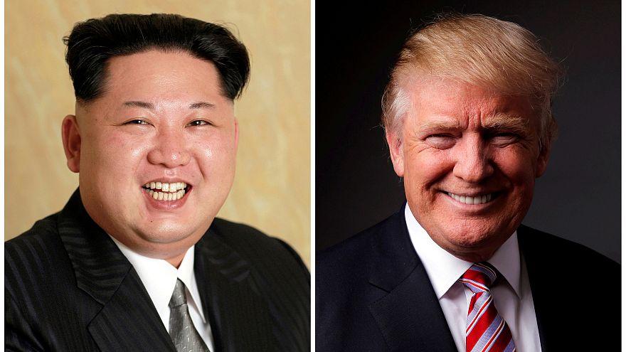 Fotografía de Kim Jong-un y Donald Trump