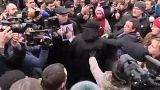Mielőbbi igazságtételt követeltek a tüntetők, a meggyilkolt ukrán jogásznő ügyében