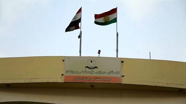valico di frontiera tra Iran e Kurdistan iracheno