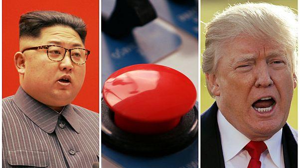 Donal Trump and kim jong un