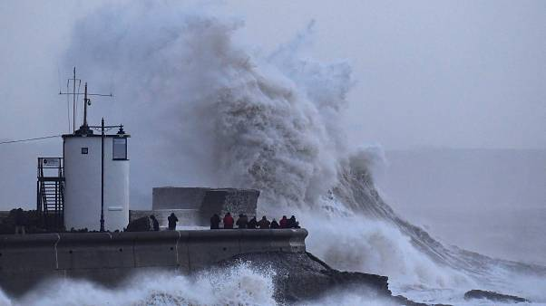 Porthcawl in south Wales, Britain Jan. 3