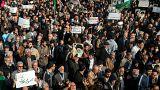 Ezúttal a kormány támogatói vonultak utcára Iránban