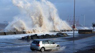 Avis de tempête sur l'ouest de l'Europe