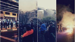 روزشمار اعتراضات سراسری دی ماه ۹۶ در ایران