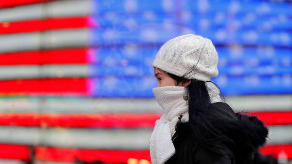 Vaga de frio bate recordes nos EUA