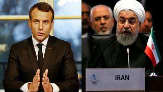 روحانی در گفتگو با ماکرون: گروههای مشوق خشونت را از فرانسه اخراج کنید