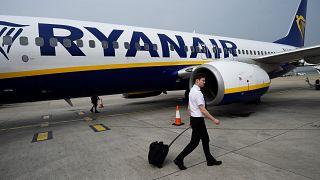 Пассажир Ryanair сбежал из самолёта