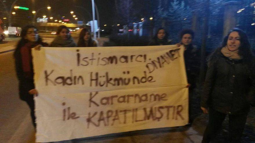 Protestolar arttı, Diyanet açıklama yayınladı
