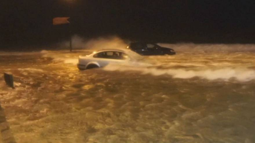 Storm Eleanor hits parts of Ireland and France with strong winds