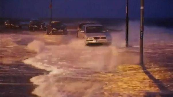 La tormenta Eleanor causa estragos en Europa