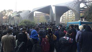 عوامل خارجی تاثیرگذار در اعتراضهای ایران