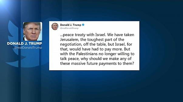 Trump's aid threats leave Palestinians & Pakistanis cold