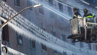 New York : du feu à la glace