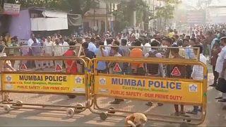 Tüntettek az érinthetetlenek Indiában