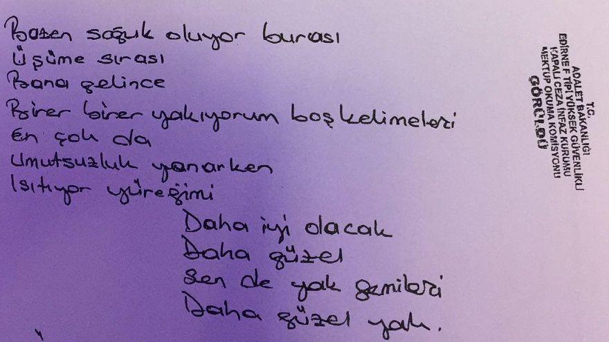 HDP lideri Demirtaş'ın yazdığı şarkı sözü bestelendi, şarkı için klip de hazırlandı