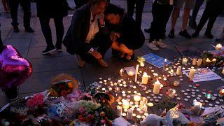 Hommage après attentat Manchester Arena