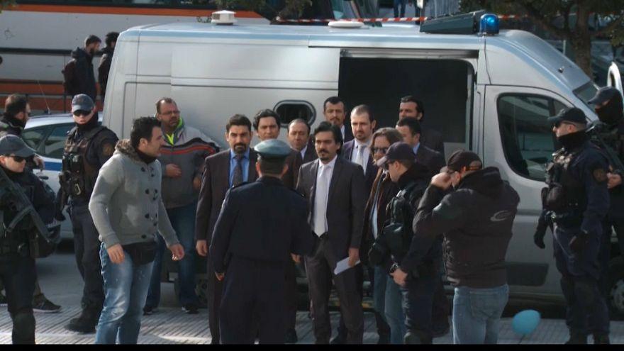 Grecia decide el futuro de ocho soldados turcos