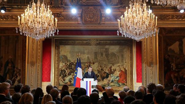 Macron announces new law against 'fake news'