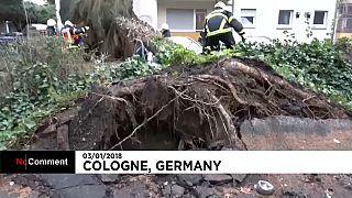 """""""Eleanor"""" causa destrozos en Europa"""