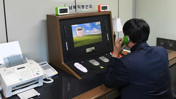 North Korea could unite with South Korea for the Winter Olympics as the two countries open a communication hotline