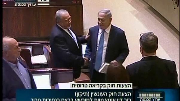 Todesstrafe für Terroristen in Israel bald einfacher?