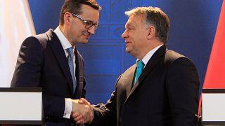 Morawiecki und Orban demonstrieren Einigkeit