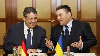 Besuch an der Front: Sigmar Gabriel fordert UN-Mission für Ukraine