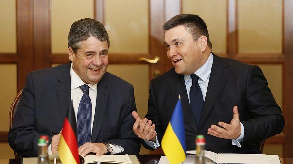 Németország a kelet-ukrajnai konfliktus békés rendezését sürgeti
