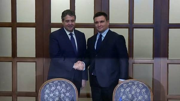 German FM visits Ukraine