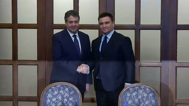 German FM visits Ukraine