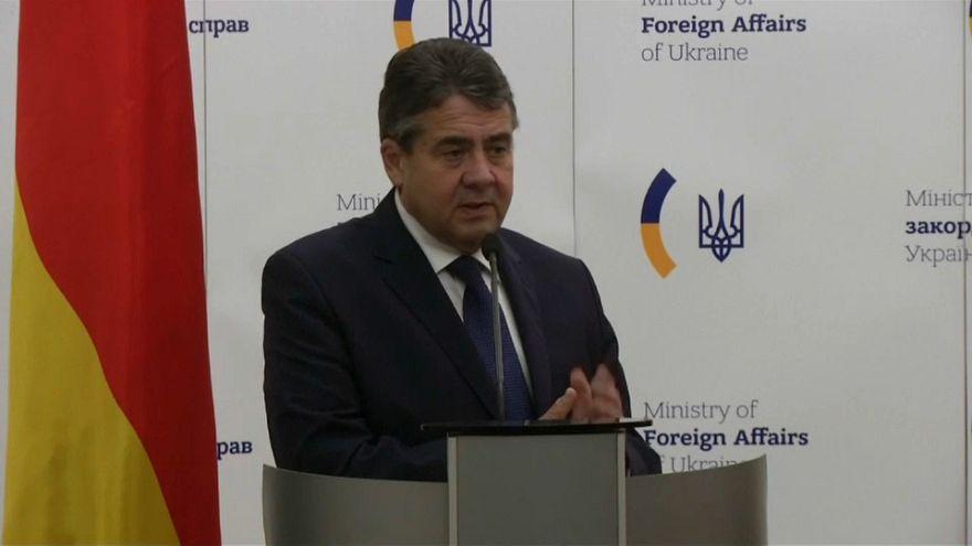 Berlin'den Kiev'e destek ziyareti